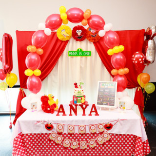 Elmo inspired Sesame Street Birthday - Main Image
