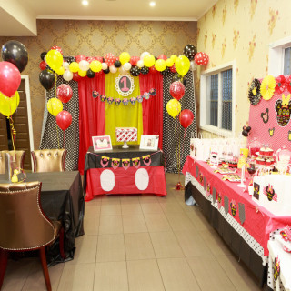 Mickey and Minnie Inspired First Birthday - Main Image